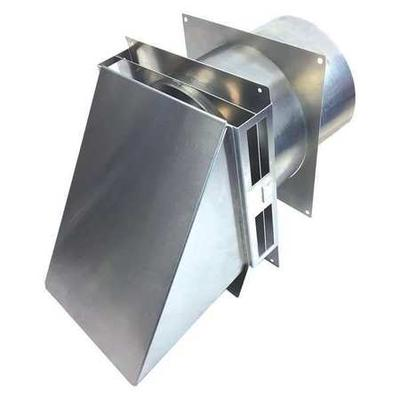 Tjernlund Vent Hood,High Temp,6 In