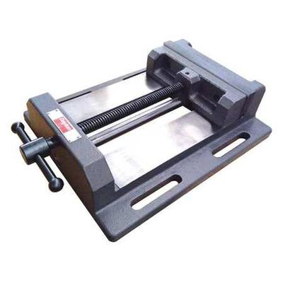 Drill Press Vise,Fixed Base,8 in. Jaw W. DAYTON 4TK03