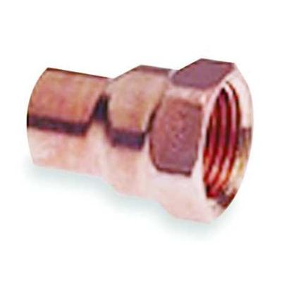 "Nibco 1/2"" NOM C x 1/4"" FNPT Copper Reducing Adapter"