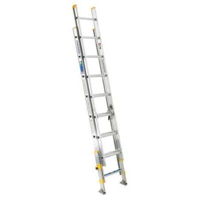 Werner 20 ft. Aluminum Extension Ladder , D1820-2EQ