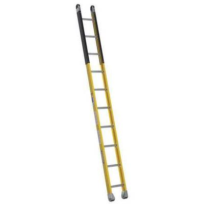 Werner 10 ft. Fiberglass Manhole Ladder , M7110-1