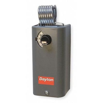 Dayton Line Voltage Mechanical Thermostat, Cooling, 24 to...
