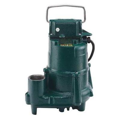 "Mighty-Mate 1/2 HP 1-1/2"" Submersible Sump Pump 115V ZOELLER N98"