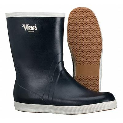 Viking VW24-10 Boots,Plain Toe,10In,Rubber,10,PR
