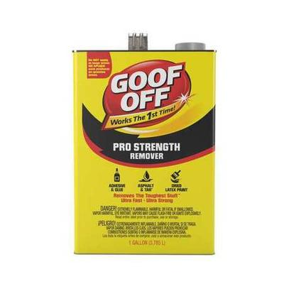 Goof Off FG657, Professional Strength Remover, 1 gal.