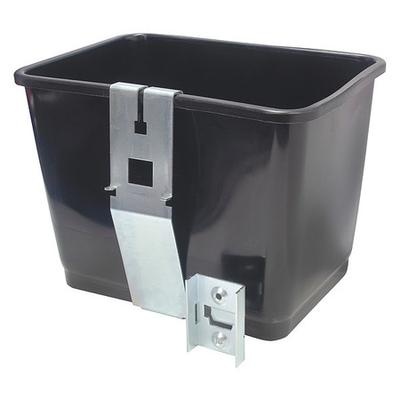 Mallory Black Squeegee Bucket