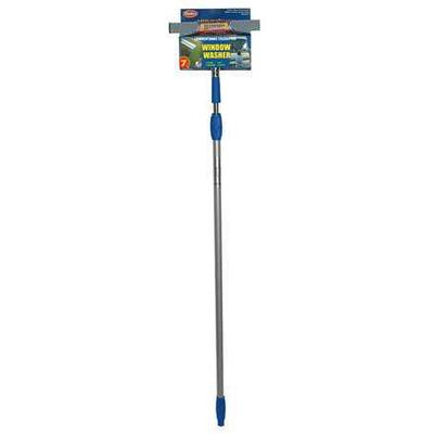 """Mallory Blue/Silver 10"""" Aluminum Window Washer and Squeeg..."""
