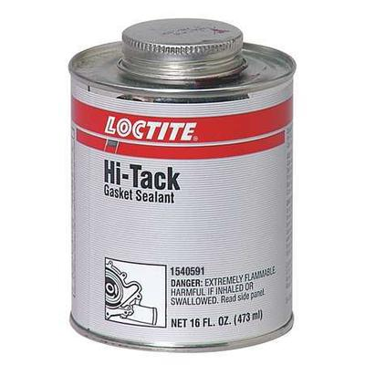 Henkel Adhesives 1540591 Gasket Sealant, 1 pt Can, Red