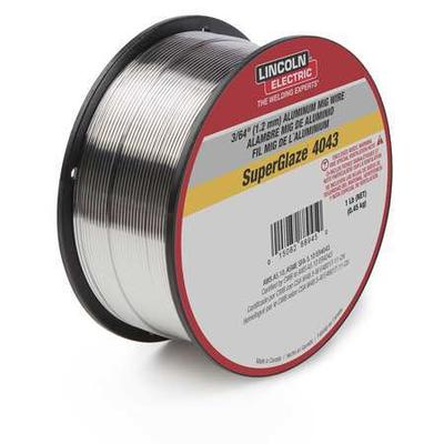 Lincoln Electric ED030312 MIG Welding Wire, 5356, .035, S...