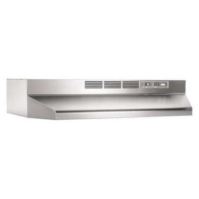 Broan 413004 Hood, Duct Free, 30 In, Stainless Steel