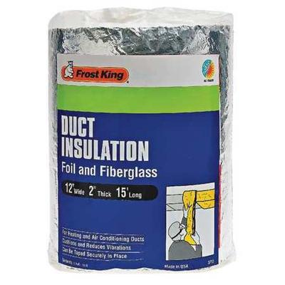 Frost King SP55/6 Duct Wrap, Fiberglass, 15 ft. L