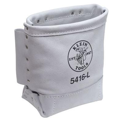 Tool Pouch, Bull-Pin And Bolt Bag, Leather, White, Klein ...