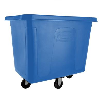 Rubbermaid FG461600DBLUE Dark Blue 16 Cu. Ft. Bulk Cube T...