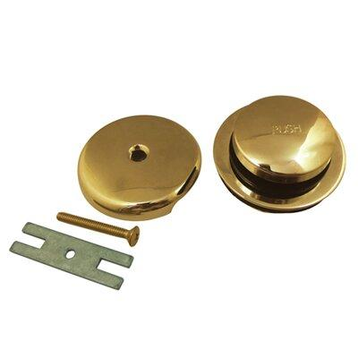 Kingston Brass Made to Match Pop-Up Tub Drain With Overfl...