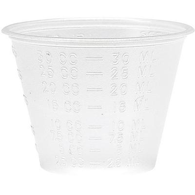 medline DYND80000 Medicine Container, 1 oz., Clear, PK5000