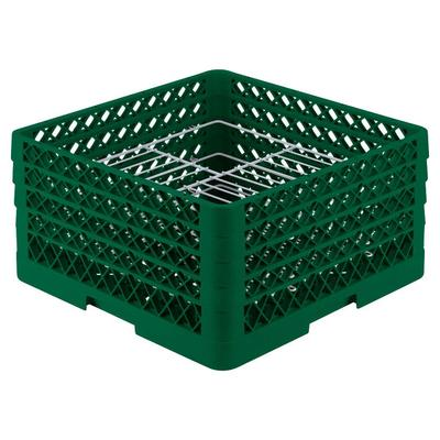 Vollrath PM2110-4 Traex Plate Crate Green 21 Compartment ...