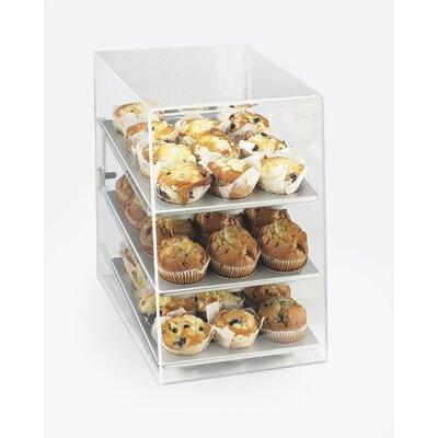 "CAL-MIL Classic 17"" 3 Tray Display Case 260"