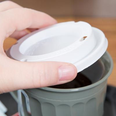 Dinex DX30008775 Turnbury White Disposable EZ Sip Lid for...