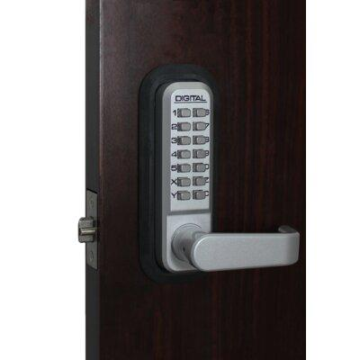 Lockey USA Combination Door Lever 2835 Finish: Marine Grade