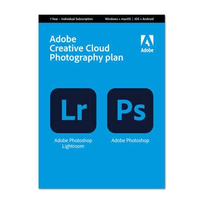 Adobe Creative Cloud Photography Plan (12 Month Subscript...