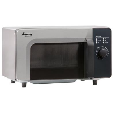 Amana RMS10DS Stainless Steel Commercial Microwave with D...