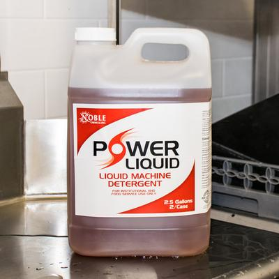 Noble Chemical 2.5 Gallon / 320 oz. Power Liquid Dish Was...