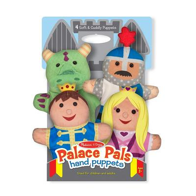 Melissa & Doug Palace Pals Hand Puppets, Multicolor