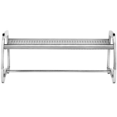 Commercial Zone 725229 Skyline Series 4' Stainless Steel ...