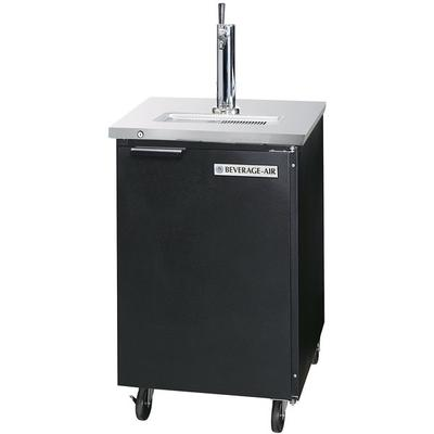 "Beverage-Air DD24-1-B 24"" True Black Beer Dispenser - 427..."