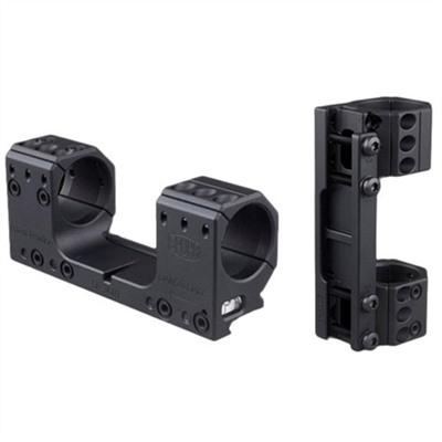 Spuhr Isms Picatinny Mounts - 30mm Isms Mount 126mm Mounting Length 0 Moa