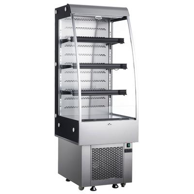 "27"" Stainless Steel Vertical Air Curtain Merchandiser - 8..."