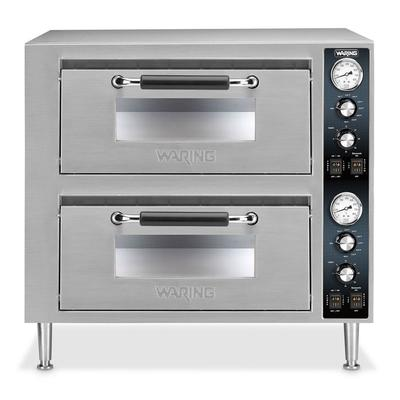 WARING-COMMERCIAL WPO750 Countertop Pizza Oven - Double D...