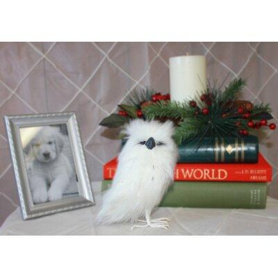 Worth Imports Standing Snow Owl 5061