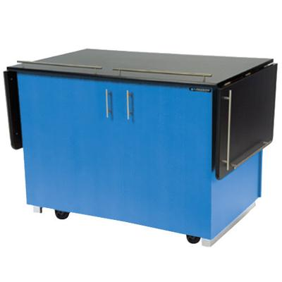 Lakeside 6850 Mobile Breakout Dining Station with Royal B...