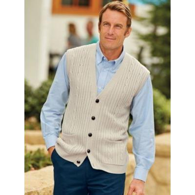 Mens Cable Knit Sweater Vest Sweaters Sweatshirts Compare