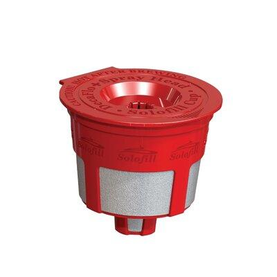 Solofill K2 Refillable Coffee Filter 10720-01 Color: Red
