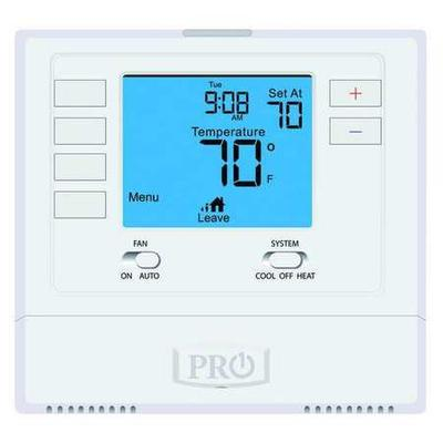 Pro1 Iaq Thermostat, 5-1-1 Day Programmable, Stages 1 Hea...