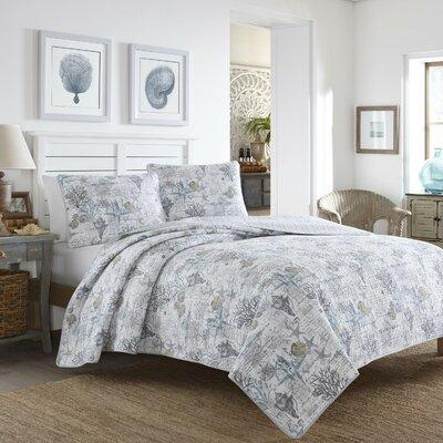 Tommy Bahama Bedding Beach Bliss 3 Piece Reversible Quilt...