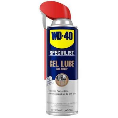 Lubricant, Gel Lubricant, Lubricant NSF Rating Not Rated, Lubricant Film Wet, Lubricant Additives No Additives, Min. Operating Temp. -100 Degrees F, Max. Operating Temp. 500 Degrees F, Extremely Flammable Aerosol, Lubricant Container Aerosol Can,...
