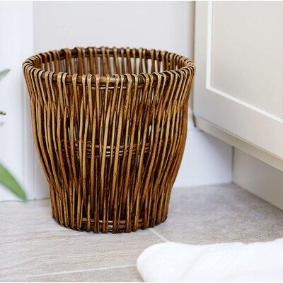 Household Essentials Wicker Waste Basket ML-2225
