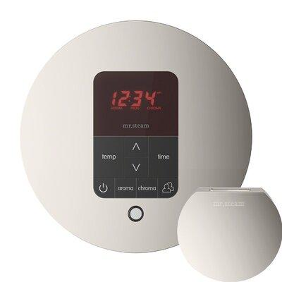 Mr Steam iTempo Plus Round Shower Thermostat and Steamhea...