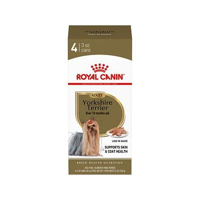 Royal Canin Yorkshire Terrier Adult Canned Dog Food, 3-oz...