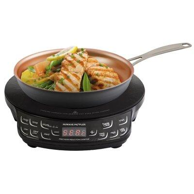 "Nu-Wave Oven 30532 Precision Induction Cooktop with 9"" Frypan, Black"