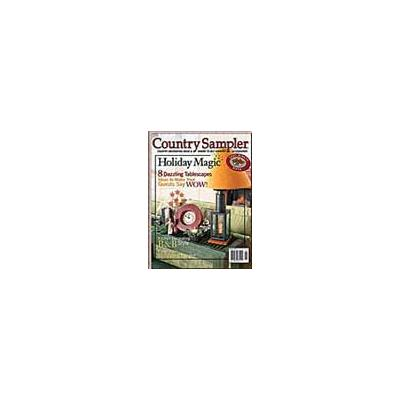 Country Sampler Magazine - 3 year(s) - 18 issues