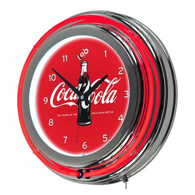 Coca-Cola Retro Neon Clock - 100th Anniversary of the Coc...