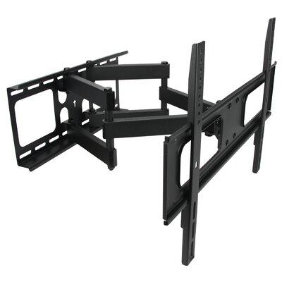 MegaMounts Full Motion Double Articulating Wall Mount for...