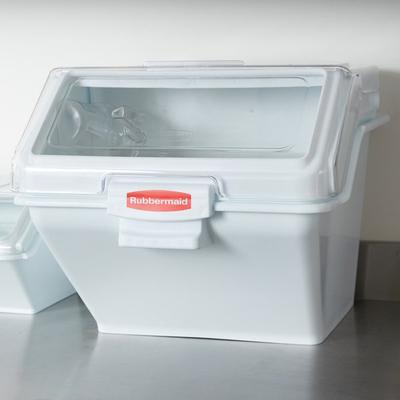 Rubbermaid FG9G5800WHT 12.6 Gallon ProSave Shelf Ingredie...