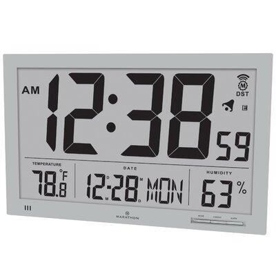 Marathon Watch Company Slim Jumbo Atomic Wall Clock CL030...
