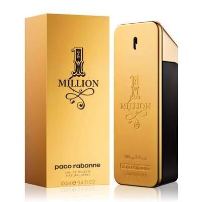 1 Million By Paco Rabanne Eau De Toilette Spray 1.7 Oz Fo...