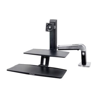 Ergotron WorkFit-A Workstation with Suspended Keyboard, S...